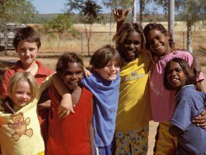 Kinder in Halls Creek